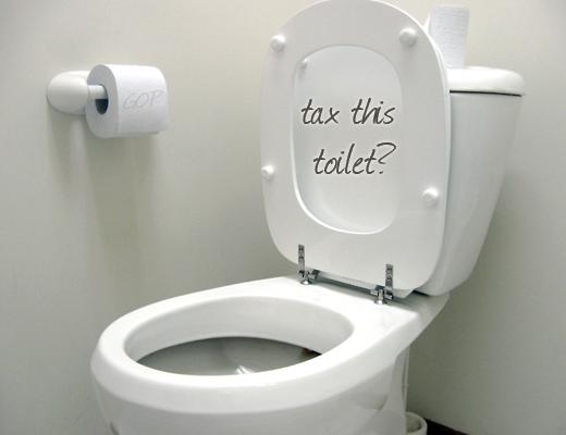 Tax-this-toilet
