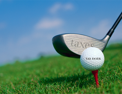 Golf-and-taxes
