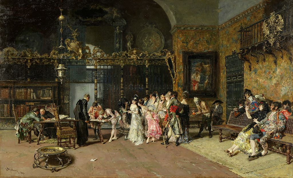 The Spanish Wedding, Mariano Fortuny, 1838-1874